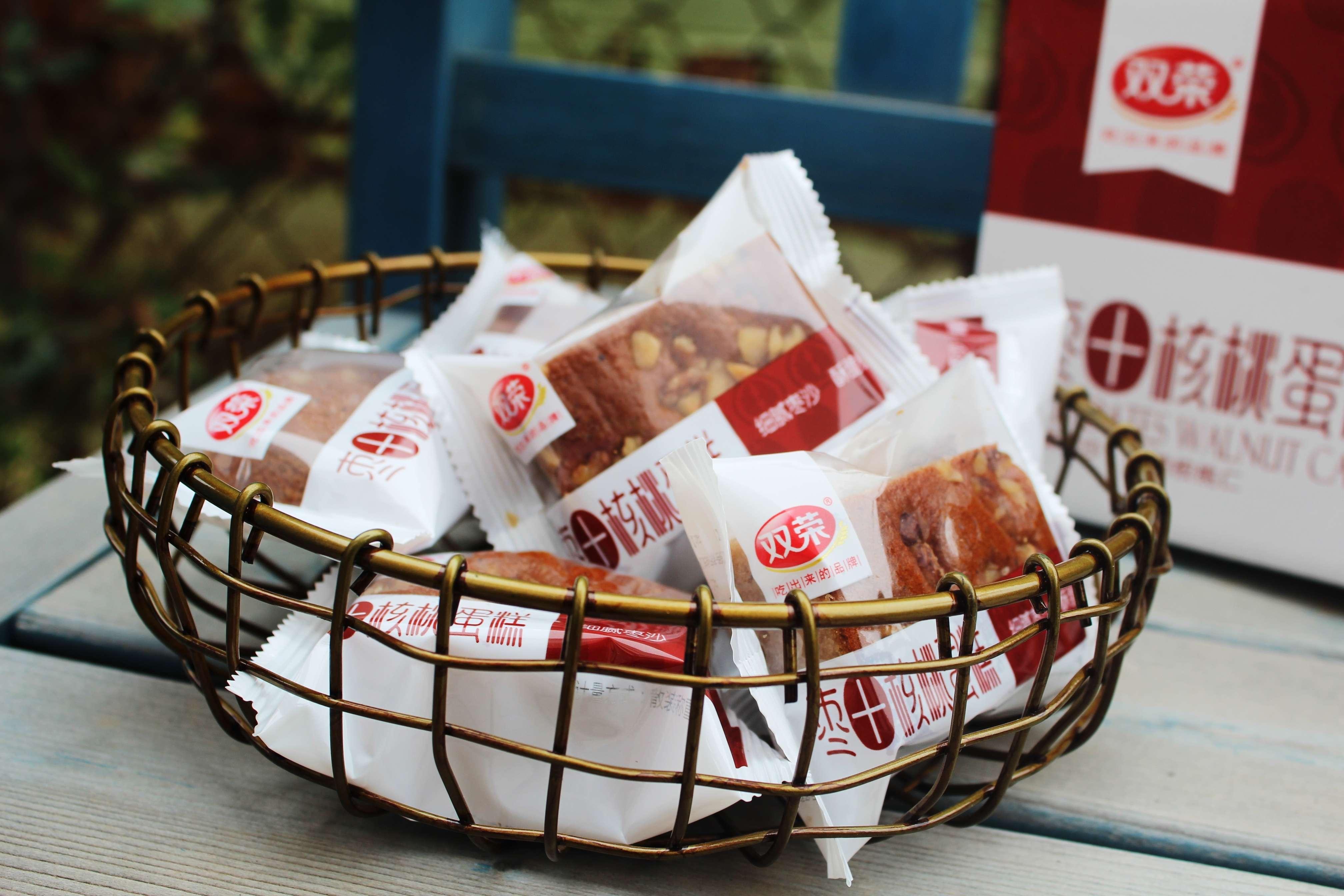 双荣枣+核桃蛋糕320g/箱(11个左右)